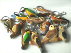 Solid Wooden Keyring - BIRDS