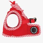 Puppia - Dog Puppy Mesh Harness Soft Vest - Vivien - Red - S, M, L