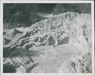 New Zealand, Mud pools of the Pohutu Geyser in Rotorua  Vintage silver print.