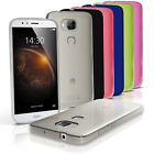 Glossy TPU Gel Case for Huawei G8 Protective Gel Skin Cover + Screen Protector