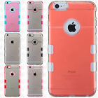 For iPhone 6 6S Plus TUFF PC TPU Fused Case Skin Phone Covers +Screen Protector