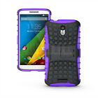 For Motorola Moto X Force Droid Turbo 2 Rugged Hybrid Hard Shockproof Case Cover