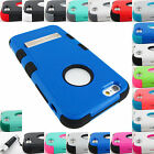 FOR APPLE PHONE MODELS SHOCK PROOF TUFF IMPACT CASE STAND COVER+STYLUS
