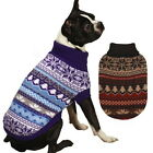 CHOOSE SIZE & COLOR - East SIde Collection - SKI LODGE - DOG PUPPY KNIT SWEATER