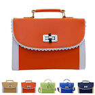 New Ladies Handbag Messenger Satchel Buckle Tote Fashion Shoulder Bag Hobo Bag
