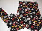 New Mickey Mouse Christmas leggings juniors/women's sizes S M L XL XXL