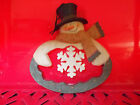 Blossom Bucket snowman ornament 3 styles to choose from