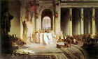 Death of Caesar (classic Roman history male art print)