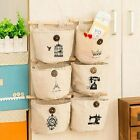 Hanging Bag Pockets Wall Door Storage Organizer Wardrobe Tidy Home Holder Linen