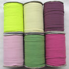 "Upick 6 Colors Braided Elastic Sewing Craft  2/8""(6mm) Wide Trim 20Yards R0501"