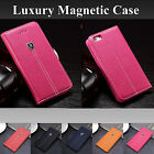 Luxury Magnetic Flip Cover Stand Wallet Leather Case For Various Phone Models