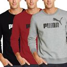 PUMA Essentials No 1 Logo Crew Sweat FL Herren Pullover Pulli Men Sweat vers. Fa