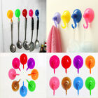 10/40pcs mix color Wall Hooks Hanger Kitchen Bathroom Suction Cup Suckers