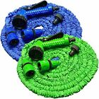 Expanding Expandable Elastic Compact Garden Hose Pipe With Spray Gun 50 75 100ft