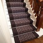 Lapulga Graphite - Stair Carpet Runner Narrow Staircase Cheap Modern Non Slip