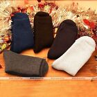 Rare 5 Pairs Mens Socks Winter Thermal Casual Soft Cotton fleece Sport Socks Set