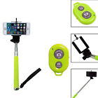Extendable Selfie Stick with Wirless Bluetooth Remote For iPhone 8 7 6 6s Plus 5