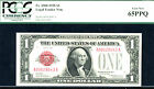 1928, $1 FR 1500 Small Size US Note - PCGS 65 PPQ-210 in this grade