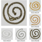 """18""""2mm Finish Chain Necklace Chains Bulk For Pendant,Ready to Wear 20Pcs"""