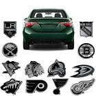 Official NHL Team Logo Chrome Auto Metal Emblem Car Truck SUV $11.95 USD on eBay