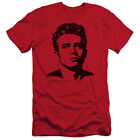James Dean Icon Movie Actor Dean Adult Slim T-Shirt Tee