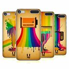 HEAD CASE DESIGNS COLOUR DRIPS HARD BACK CASE FOR APPLE iPOD TOUCH MP3
