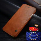 Luxury Genuine PU Leather Flip Case Wallet Cover For Samsung Galaxy S8 Note 8