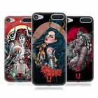 HEAD CASE DESIGNS BAMBOLE TATUATE COVER MORBIDA IN GEL PER APPLE iPOD TOUCH MP3