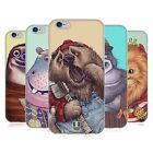 HEAD CASE DESIGNS TIERSPIEL SOFT GEL HÜLLE FÜR APPLE iPHONE HANDYS