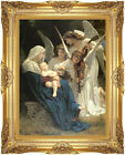 Song of the Angels William Bouguereau Framed Christian Canvas Art Print Repro