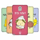 HEAD CASE DESIGNS YUMMY DOODLE HARD BACK CASE FOR SAMSUNG PHONES 2