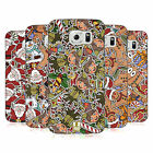 HEAD CASE DESIGNS CHRISTMAS PRINTS HARD BACK CASE FOR SAMSUNG PHONES 1