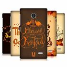 HEAD CASE DESIGNS THANKSGIVING TYPOGRAPHY HARD BACK CASE FOR NOKIA PHONES 3