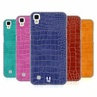 HEAD CASE DESIGNS CROCODILE SKIN PATTERN HARD BACK CASE FOR LG PHONES 2