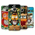 HEAD CASE DESIGNS FANCIFUL OWLS HARD BACK CASE FOR HTC PHONES 2