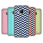 HEAD CASE DESIGNS HERRINGBONE PATTERN HARD BACK CASE FOR HTC PHONES 1