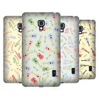 HEAD CASE DESIGNS PAJAMA PATTERNS - MUSICAL INTRUMENTS BACK CASE FOR LG PHONES 3