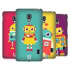 HEAD CASE DESIGNS ROBOT KIDS HARD BACK CASE FOR LG PHONES 3
