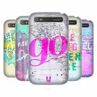 HEAD CASE DESIGNS WANDERLUST STATEMENTS HARD BACK CASE FOR BLACKBERRY PHONES