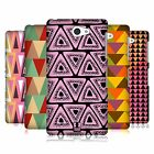 HEAD CASE DESIGNS TRIANGLES HARD BACK CASE FOR SONY PHONES 4