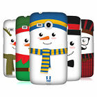 HEAD CASE DESIGNS MR SNOWMAN HARD BACK CASE FOR SAMSUNG PHONES 6