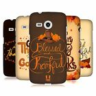 HEAD CASE DESIGNS THANKSGIVING TYPOGRAPHY HARD BACK CASE FOR SAMSUNG PHONES 6