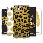 HEAD CASE DESIGNS GRAND AS GOLD HARD BACK CASE FOR SONY PHONES 3