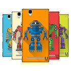 HEAD CASE DESIGNS ROBOT MANIA HARD BACK CASE FOR SONY PHONES 3