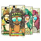 HEAD CASE DESIGNS SUMMER HIPPIES HARD BACK CASE FOR SONY PHONES 3