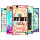 HEAD CASE DESIGNS TIE DYE CRY HARD BACK CASE FOR SONY PHONES 3