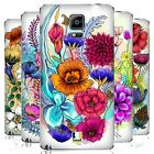 HEAD CASE DESIGNS WATERCOLOURED FLOWERS BATTERY COVER FOR SAMSUNG PHONES 1