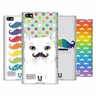 HEAD CASE DESIGNS RAINBOW MOUSTACHE SOFT GEL CASE FOR BLACKBERRY PHONES