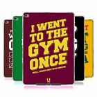 HEAD CASE DESIGNS FUNNY WORKOUT STATEMENTS GEL CASE FOR APPLE SAMSUNG TABLETS