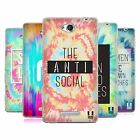 HEAD CASE DESIGNS TIE DYE CRY SOFT GEL CASE FOR SONY PHONES 3